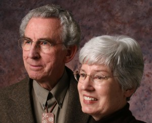 Garth Norman--ARCON Archaeologist and Cheryl Norman--ARCON Secretary